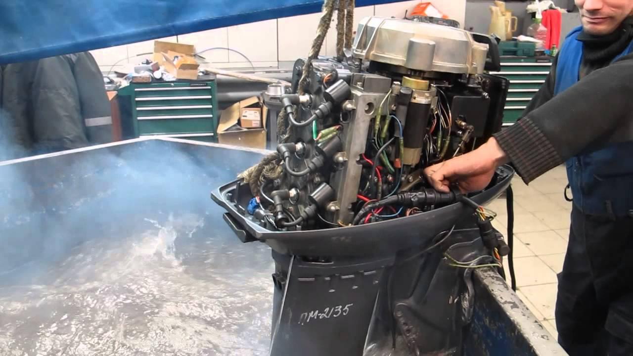 нет охлаждения на лодочном моторе