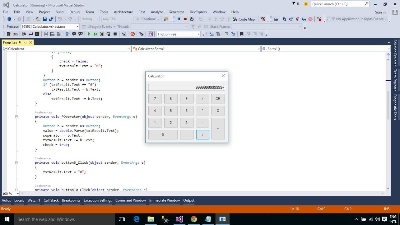 c  tutorial   how to make a calculator