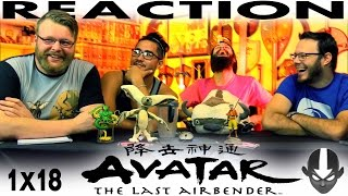 """Avatar: The Last Airbender 1x18 REACTION!! """"The Waterbending Master"""""""