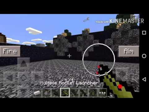 mod de armas para minecraft pe