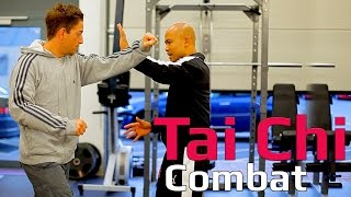 Tai chi combat tai chi chuan - How to use tai chi to deal with jab and cross. Q11 thumbnail