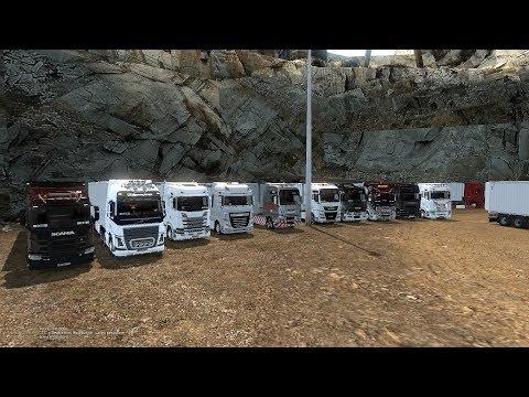 Стрим #202 Совместный открытый конвой по ETS2 от Trucks Life