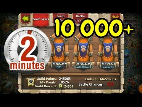 Guild Wars L 10 000+ Points L Castle Clash