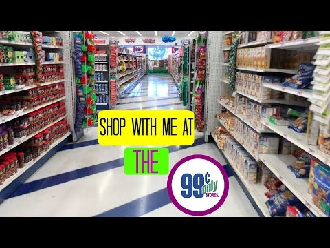 Shop With Me at The 99 Cent Only Store   Small Grocery Haul