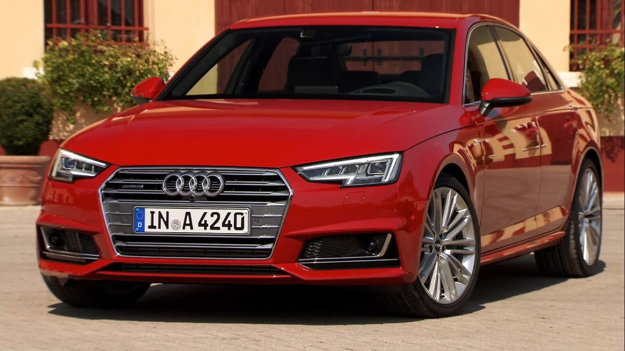 2016 Audi A4 Sedan Tango Red Interior Exterior And Drive
