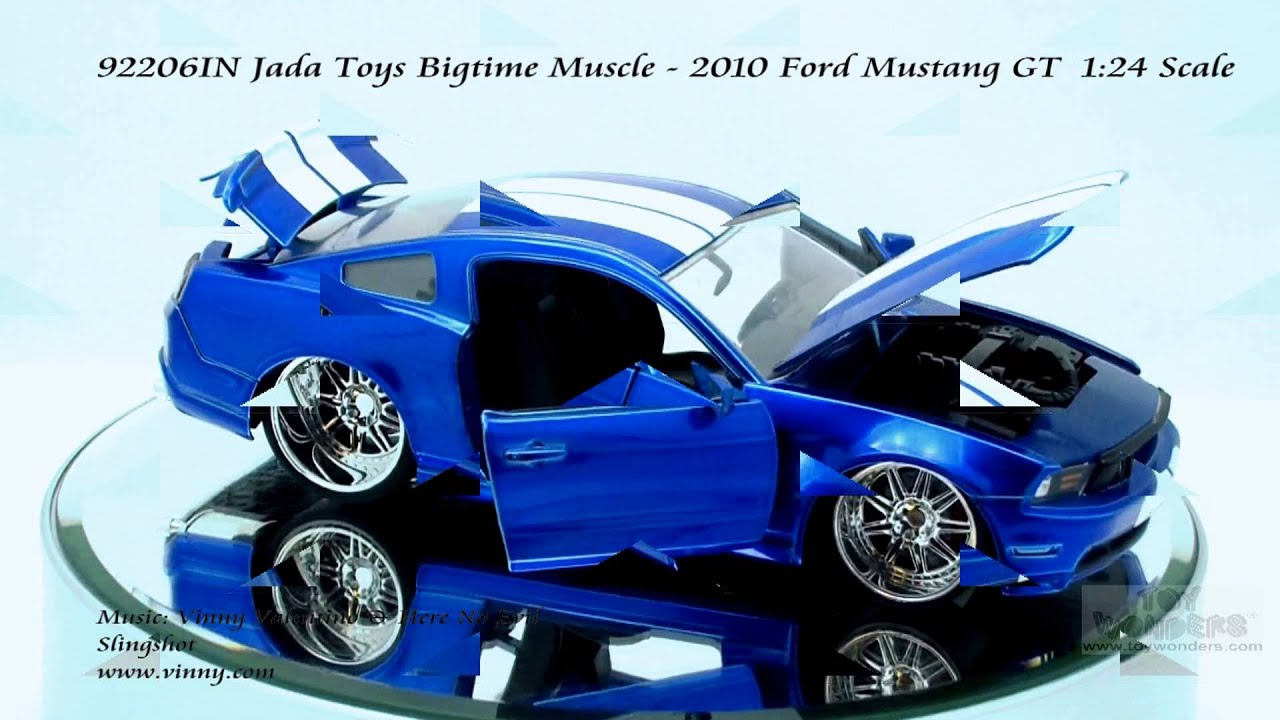 In Jada Toys Bigtime Muscle  Ford Mustang Gt  Scalecast Wholesale Youtube