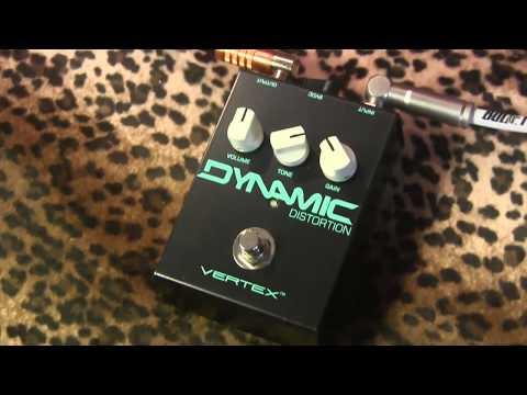 Vertex Effects DYNAMIC DISTORTION demo with Suhr Tele