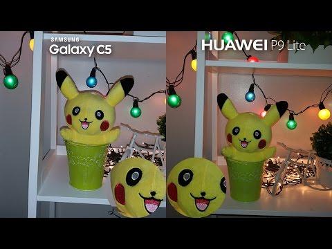 Samsung Galaxy C5 vs Huawei P9 Lite Comparison + Camera Review