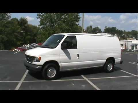 for sale 2003 ford e 150 work cargo van 1 owner stk 35273 youtube. Black Bedroom Furniture Sets. Home Design Ideas