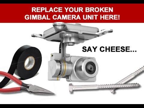 Dji Phantom 2 Vision Gimbal Camera Replacement How To