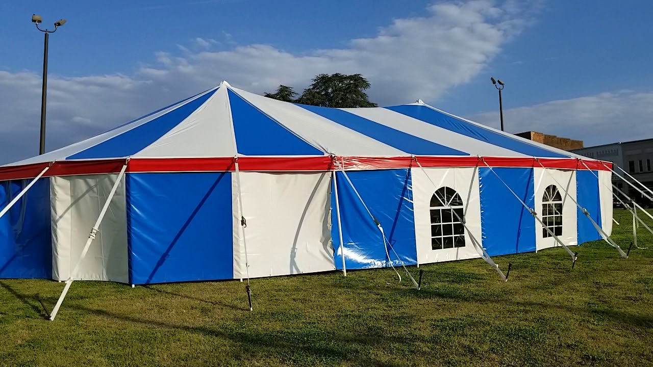 YouTube & 40x60 tent Miami Missionary Tent co