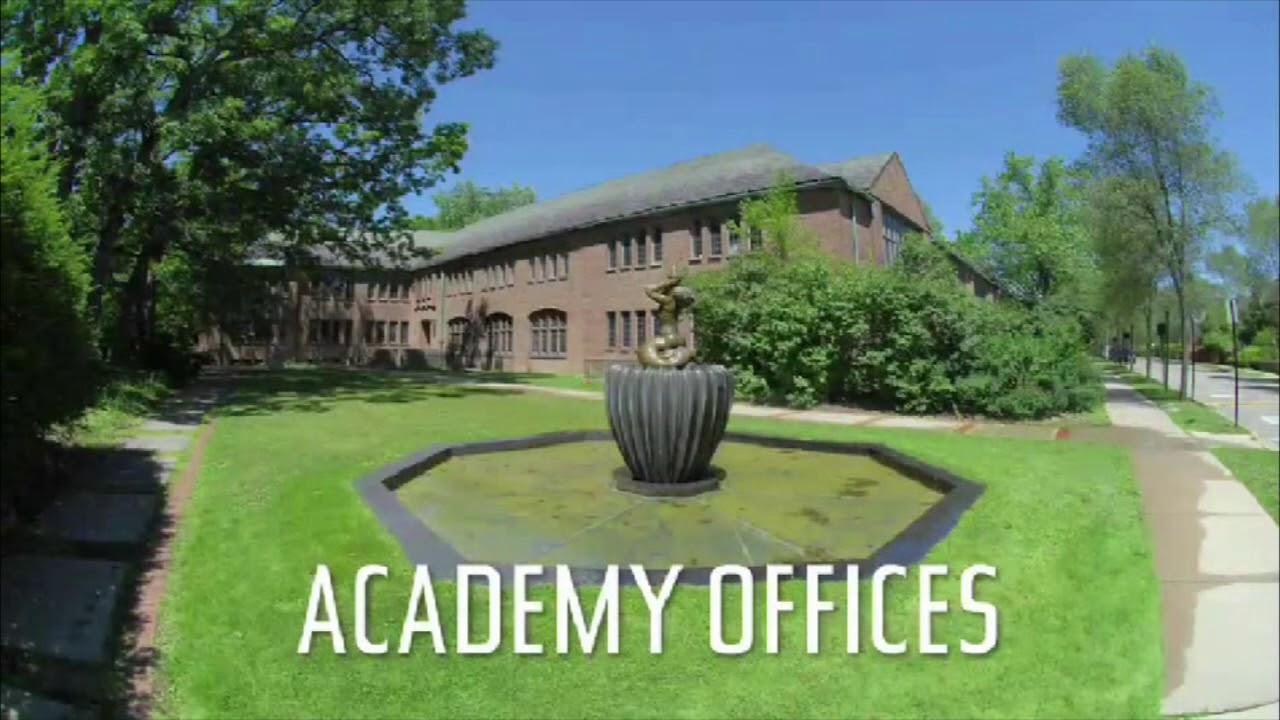 Cranbrook Academy of Art campus tour - YouTube