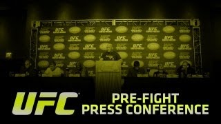 UFC 154: St-Pierre vs Condit Pre-fight Press Conference
