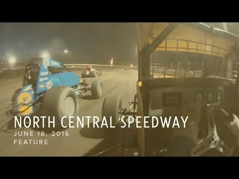 June 18, 2016 North Central Speedway Feature
