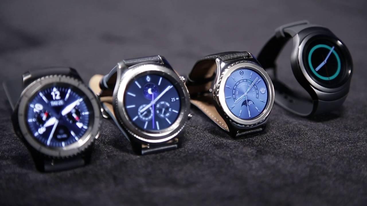 Samsung Gear S2 vs Gear S3: Design Form Factor - YouTube