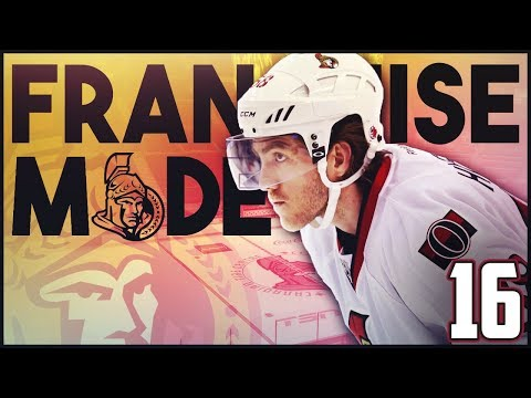 "NHL 18 - Ottawa Senators Franchise Mode #16 ""Philly"""