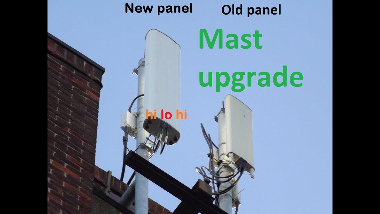 EE 4G Mast Upgrade Massive Speed Increase YouTube