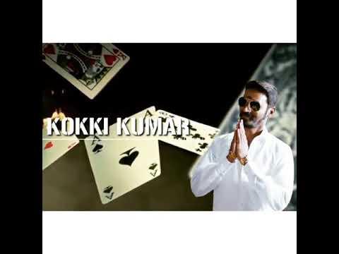 Kokki Kumar 💥 Dhanush Mass Entry BGM | Cute Dubsmash & Ringtone