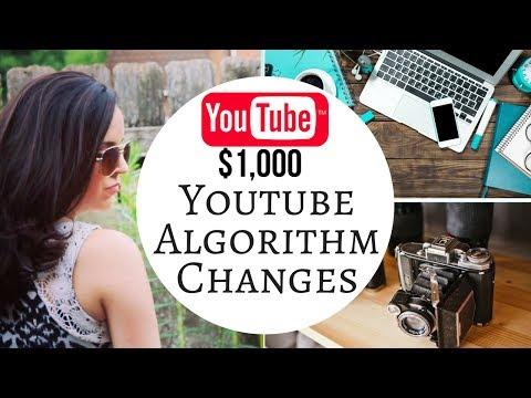 $1000 YouTube Algorithm Changes 💲