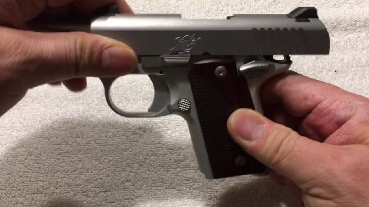 Kimber Micro 9: Field Strip