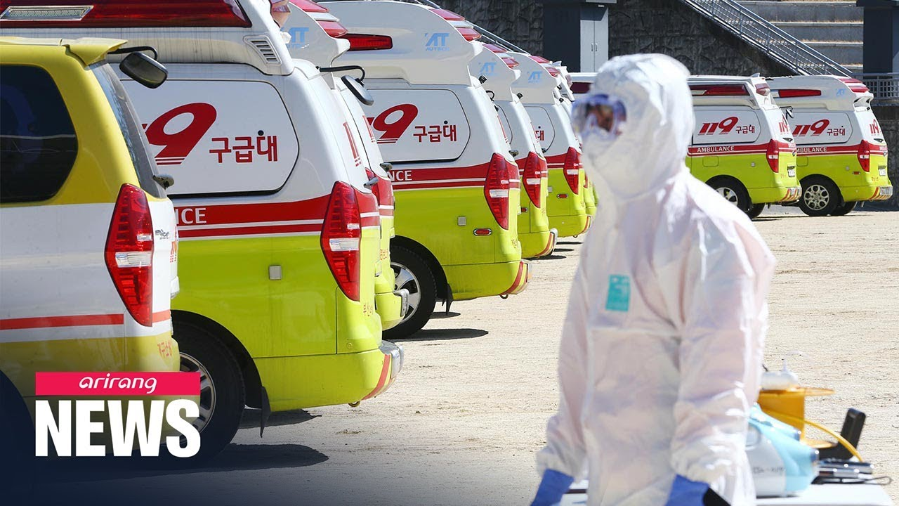 Over 3,500 people infected with COVID-19 in S. Korea
