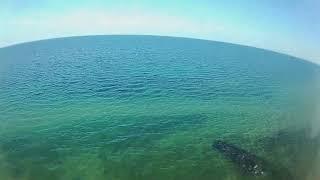 Drohnenflug Rosenfelder Strand Juni 2020