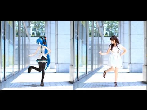 """""""from Y to Y"""" Dance with VOCALOID [ゆこはむ & 初音ミク] [MMD 踊ってみた](Girl"""