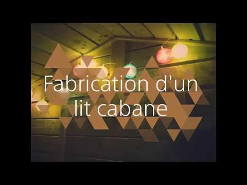 Lit Cabane En Palettes Youtube
