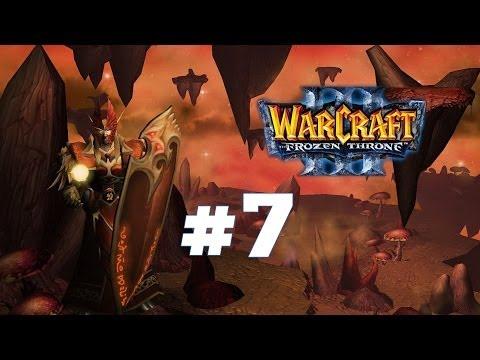 Warcraft 3 Ледяной Трон - Часть 7 - Проклятие Мстителей - Прохождение кампании Альянс