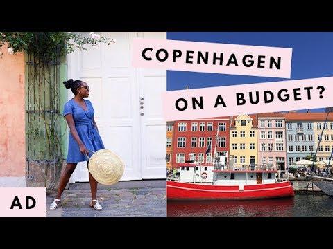 VLOG | Visiting Copenhagen On A Budget + Bike Fails! | Kristabel | AD