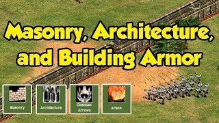 Masonry, Architecture, and Building Armor in AoE2