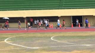 103年縣長盃田徑賽小男400公尺接力預賽(第5組)