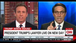 Cuomo cross examines Trump's lawyer Jay Sekulow in a combative interview