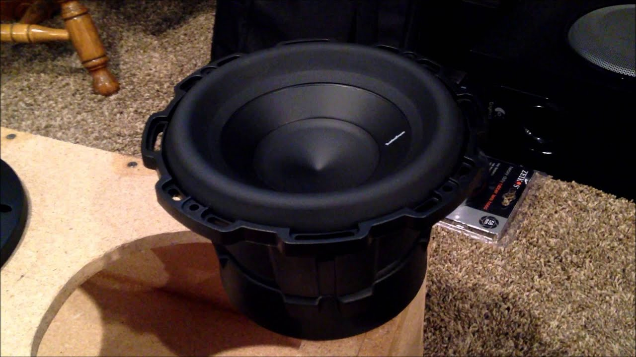rockford fosgate p2d2 8 subwoofer punch 2 unboxing. Black Bedroom Furniture Sets. Home Design Ideas