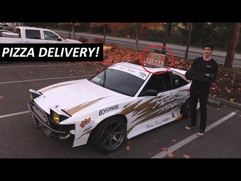 Delivering Pizza In A Drift Car | What It's Like