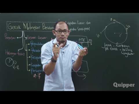 Quipper Video - Fisika - Gerak Melingkar Beraturan - Kelas 10