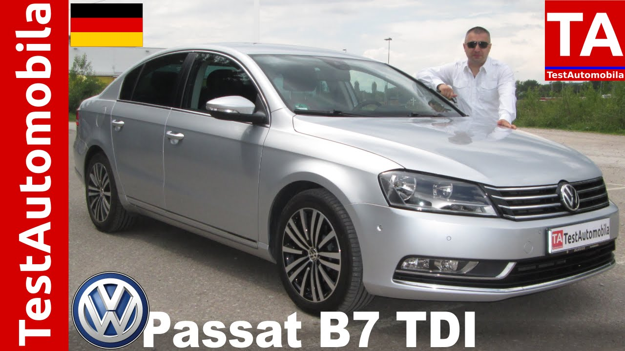 vw passat b7 2 0 tdi test balkanski san youtube. Black Bedroom Furniture Sets. Home Design Ideas