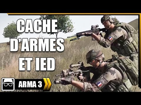 ARMA 3 | OPEX - CACHE D'ARMES ET IED [Gameplay FR]