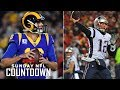 Are Rams Or Patriots Winning Super Bowl Liii  Nfl Countdown