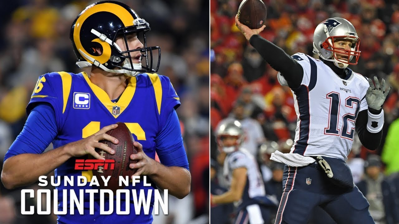 Are Rams or Patriots winning Super Bowl LIII? | NFL Countdown