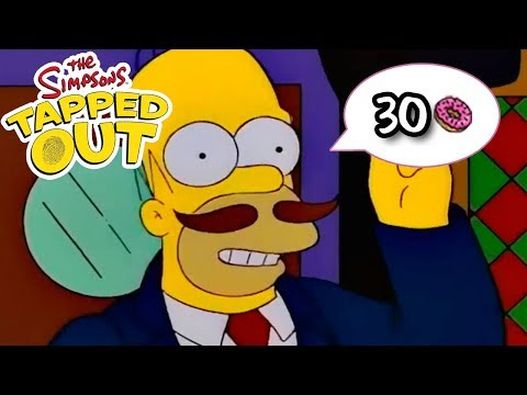 The Simpsons: Tapped Out - Guy Incognito - Premium Character Walkthroughs