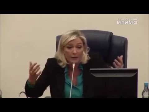 Marine Le Pen: Wir sind für traditionelle Werte und Kultur in Europa