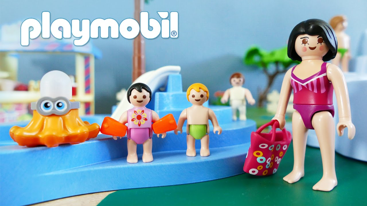 Playmobil Summer Fun Aquapark Film Water Park Swimming Pool