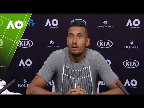 Nick Kyrgios press conference (1R) | Australian Open 2017