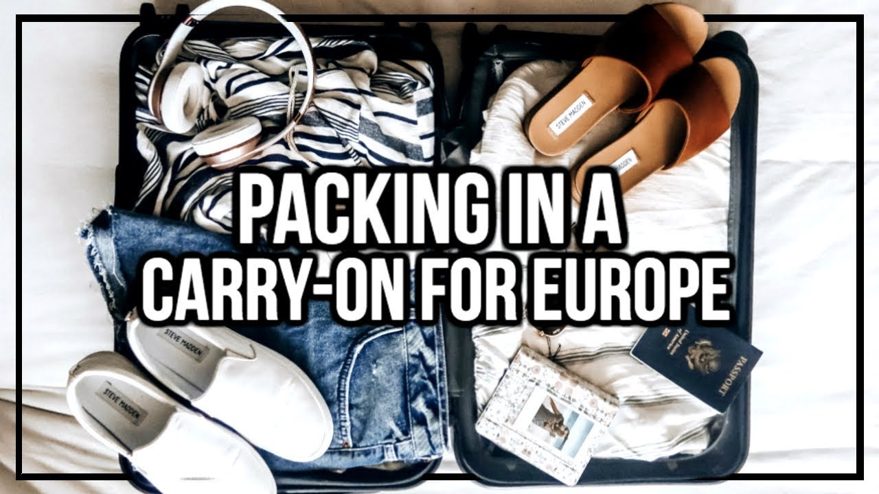 Pack W Me For Greece How To Pack In A Carry On For Europe
