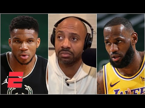 LeBron wants to make sure Giannis knows who's the real MVP of the NBA - JWill | KJZ