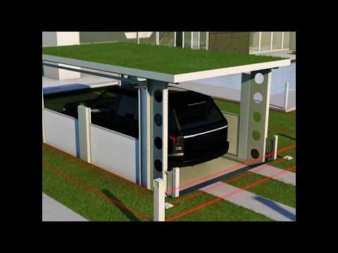 IdealPark |  Invisible solution for private house.