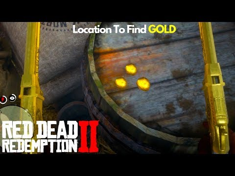 How To Find Gold Nugget Location Red Dead Redemption 2 Money