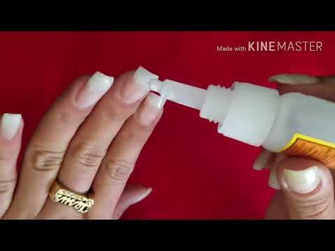 Como hacer uñas sólo con resina y Tip