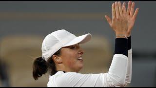 Iga Świątek w półfinale Roland Garros: staram się nie myśleć o oczekiwaniach